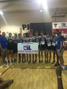 photo of high school cross country team