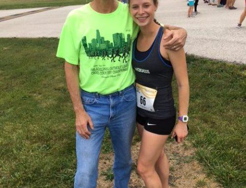 Tim Jones Coaches Daughter To New Mile PR