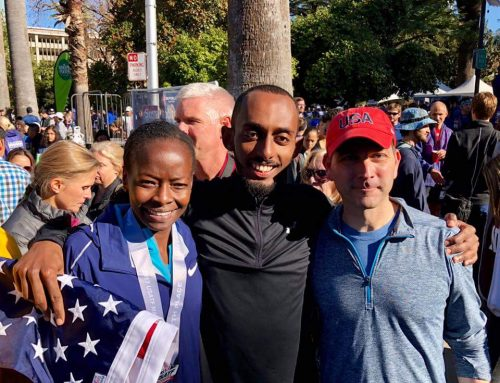 Kiya Dandena Finishes Third At U.S. Marathon Championships