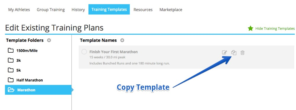 Save Time With Copy Templates