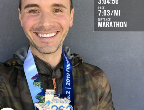 Matt Freitas Takes His Running To The Next Level