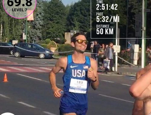 Craig Hunt Places 10th At 50K World Champs