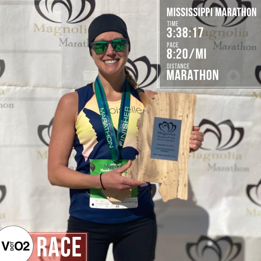 Jamie Gibson Wins Magnolia Marathon