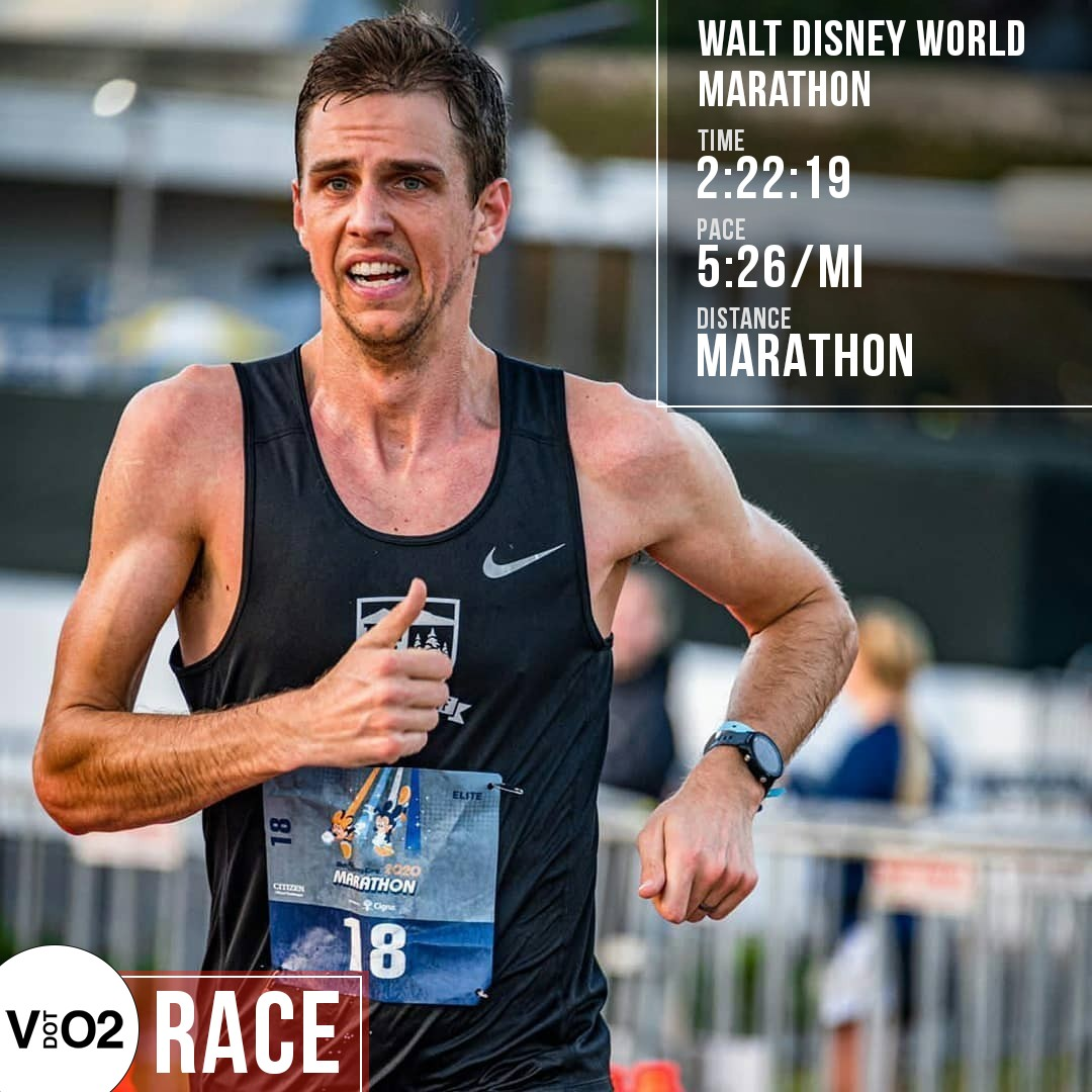 Nick Hilton Wins The Disney Marathon