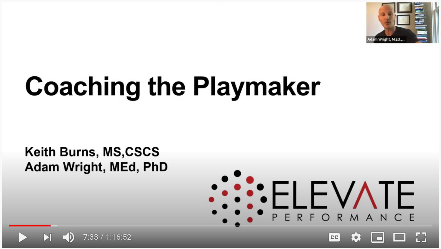 Empowering Your Athletes With The Playmaker Blueprint