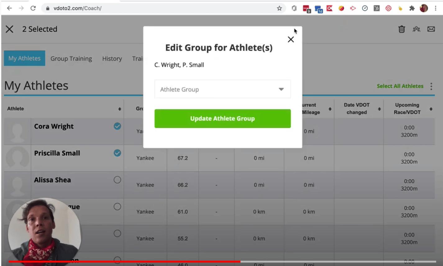 New Feature: Bulk Edit Your Athlete List